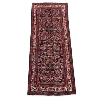 3'4 x 8'10 Hand-Knotted Northwest Persian Herati Long Rug