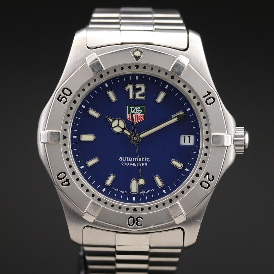Stainless Steel TAG Heuer Automatic Wristwatch