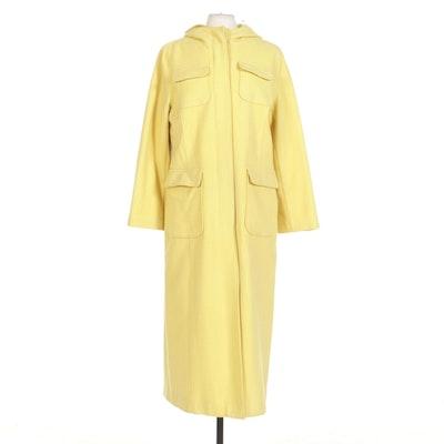 Newport News Easy Style Yellow Full-Length Coat