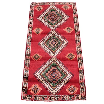 2'10 x 6'1 Hand-Knotted Caucasian Shirvan Area Rug