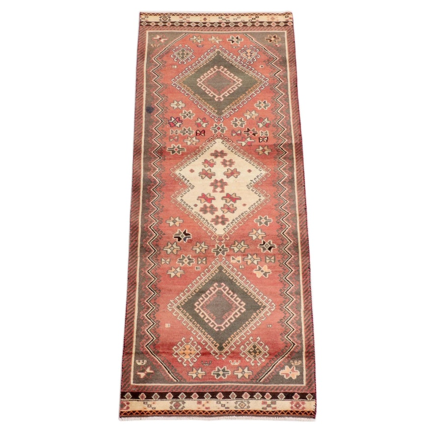 2'10 x 7'5 Hand-Knotted Persian Yalameh Area Rug