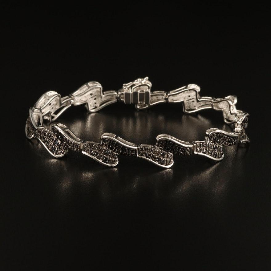 Spinel Fancy Link Bracelet