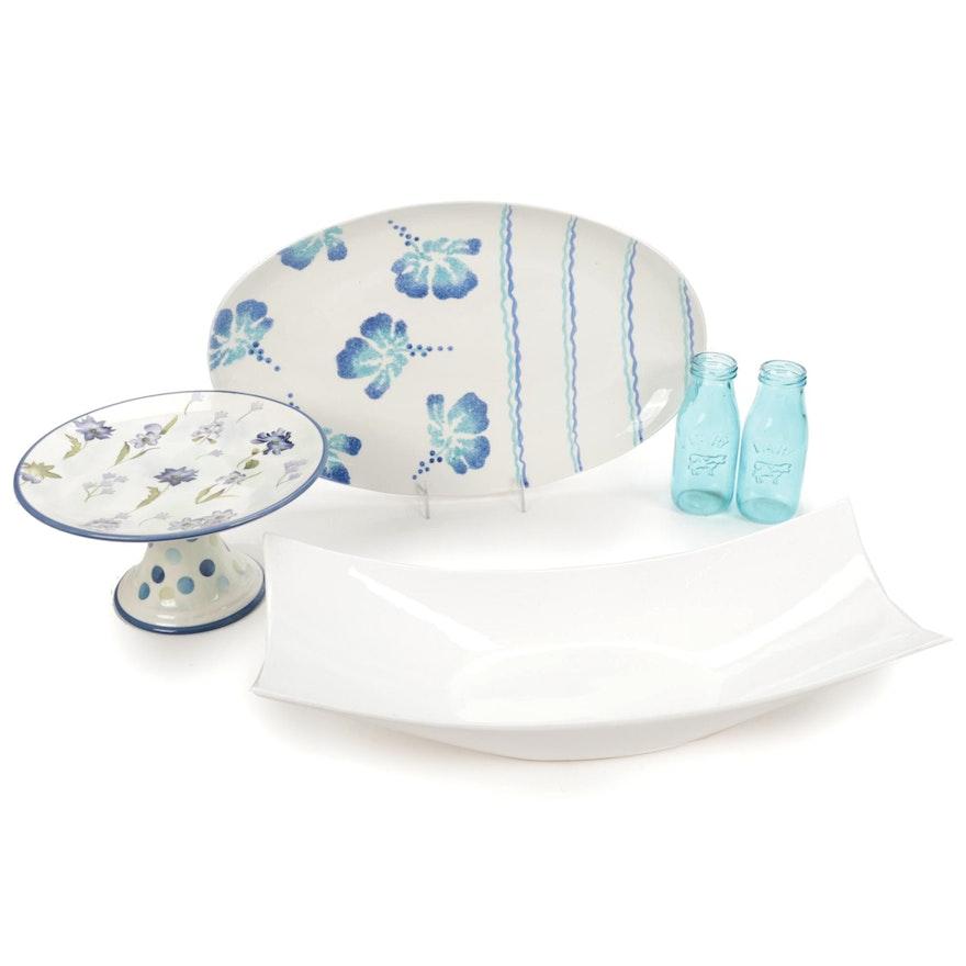 Chef Ology, Pereias and Dine Ceramic and Glass Serveware