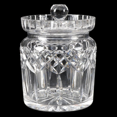 "Waterford Crystal ""Lismore"" Biscuit Barrel"