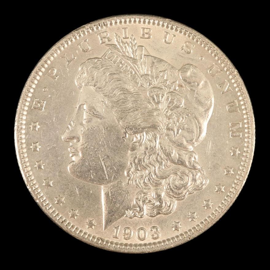 Better Date 1903 Morgan Silver Dollar