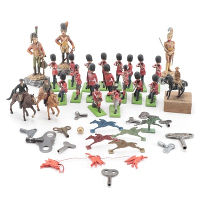 Britains Ltd. Deetail Cast Metal Toy Soldiers and Other Figures