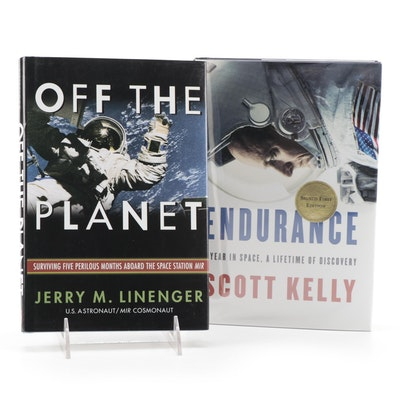"""Signed First Edition """"Endurance"""" by Scott Kelly and More"""