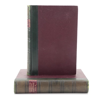 """Second Edition """"The Household Physician"""" by J. McGregor-Robertson, 1902"""