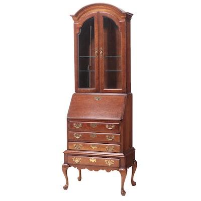 Jasper Cabinet Queen Anne Style Cherry Secretary Desk