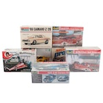 Monogram, Revell, and Other Car Model Kits, Mid to Late 20th Century