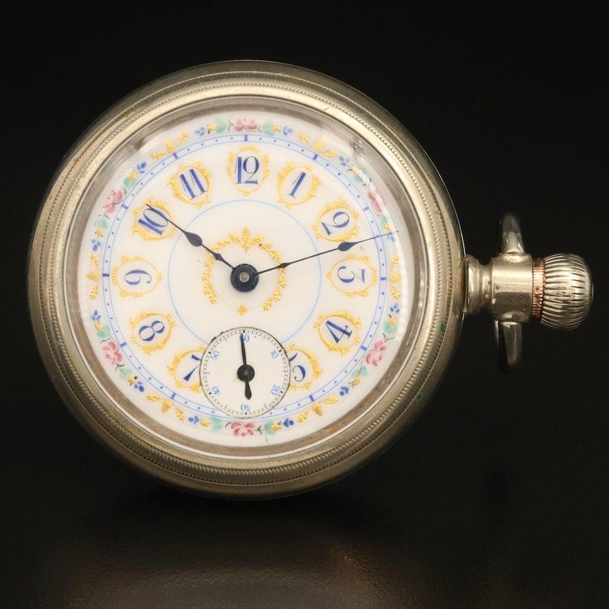 1890 Elgin Sidewinder Pocket Watch