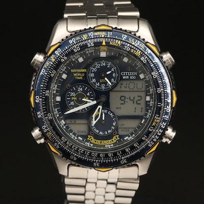 Citizen Blue Angels Navihawk Wristwatch
