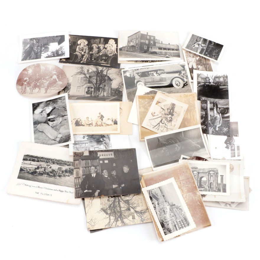 Silver Gelatin Prints and Postcards, Early-Mid-20th Century