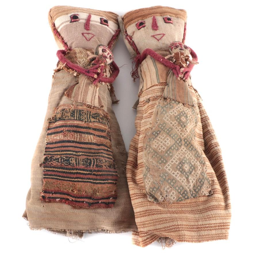 Handmade Peruvian Chancay Dolls