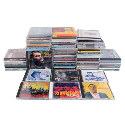 Diana Ross, Marvin Gaye, Roy Orbison with Other Rock, R&B, Big Band CDs