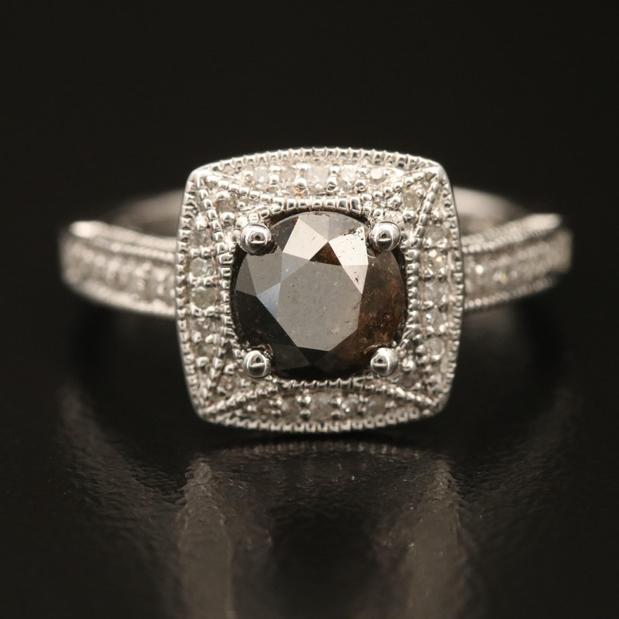 Sterling 1.50 CTW Diamond Ring