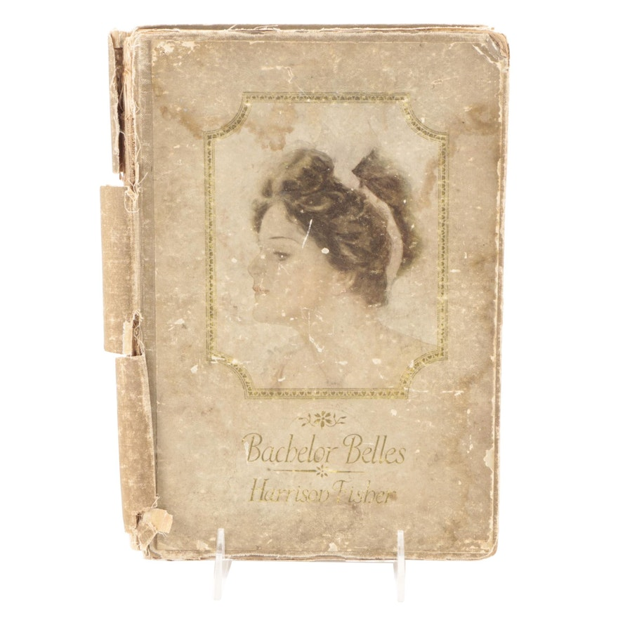 """Illustrated """"Bachelor Belles"""" by Harrison Fisher, 1908"""