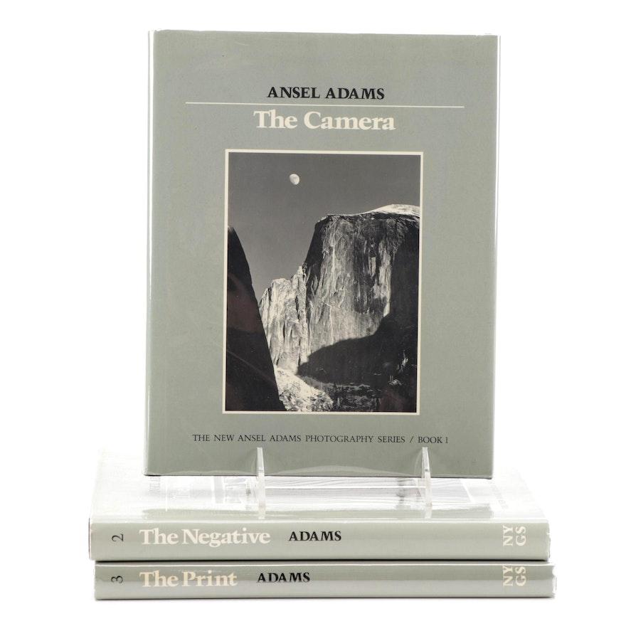 Early Printings New Ansel Adams Photography Book Series Three-Volume Set