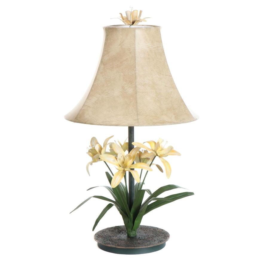 Italianate Lily Tole Table Lamp