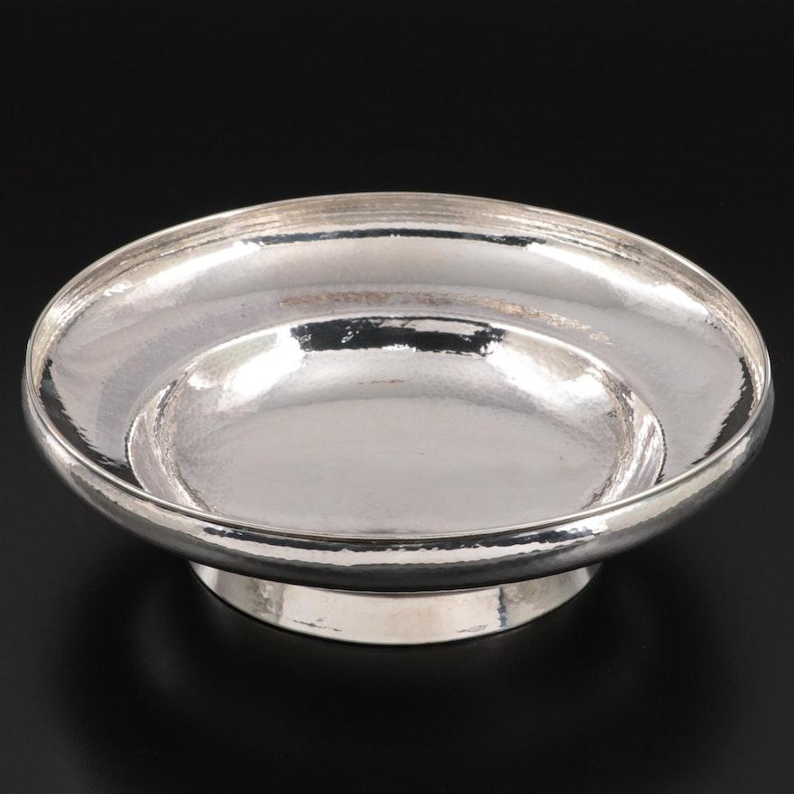 Bremen Werkstätten German Hammered 835 Silver Centerpiece Bowl