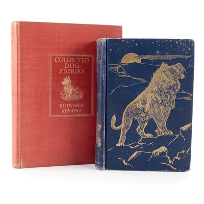 """First UK Trade Edition """"Collected Dog Stories"""" by Rudyard Kipling and More"""