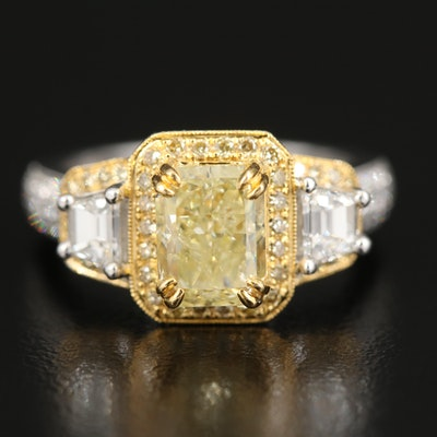 18K 3.30 CTW Diamond Ring