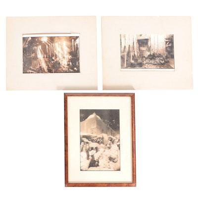 Mitchell Danbury Silver Gelatin Photographs of Urban Landscapes, 1979