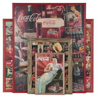 Framed Coca-Cola Puzzles