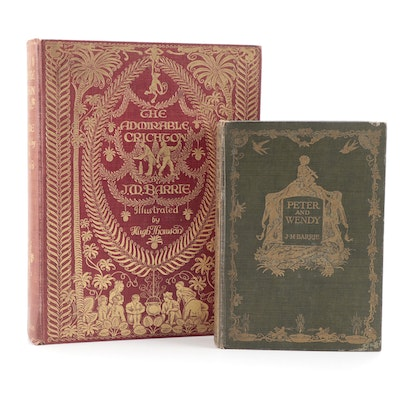 """First Edition """"Peter and Wendy"""" and More by J. M. Barrie, Early 20th Century"""