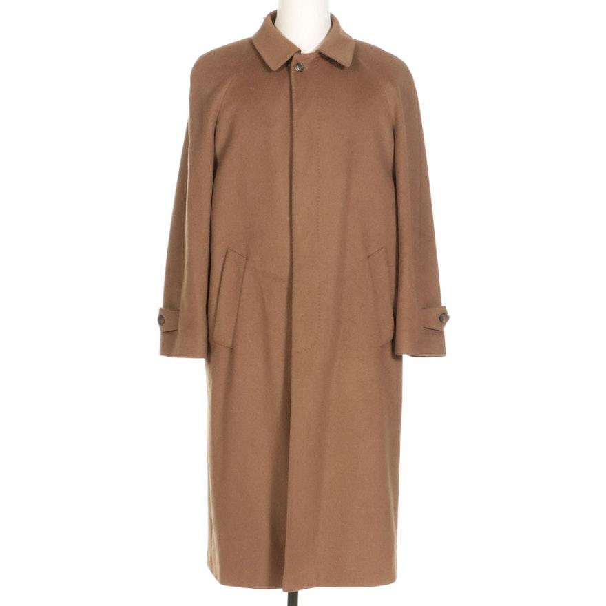 Marco Bellini Italian Cashmere Overcoat