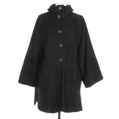 Max Mara Alpaca and Wool Blend Coat
