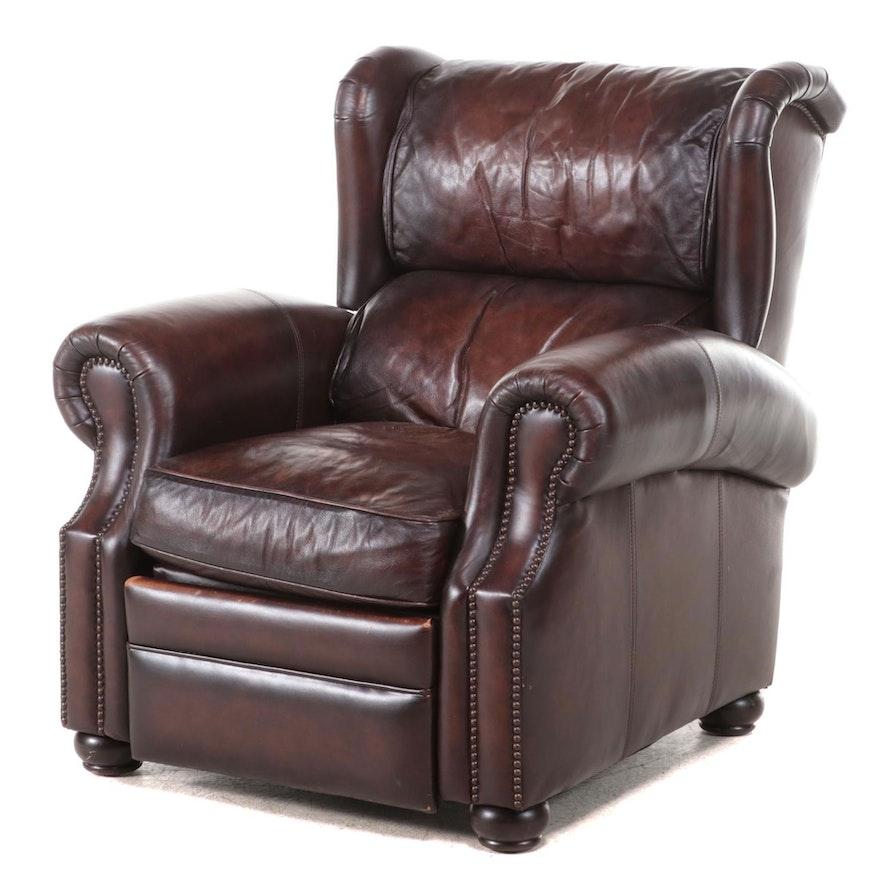Bernhardt Leather Reclining Armchair