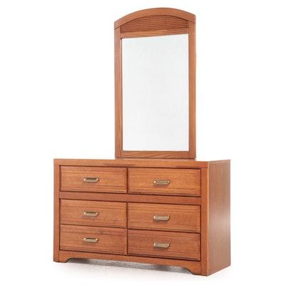 Broyhill Cedar 6-Drawer Bedroom Dresser with Mirror
