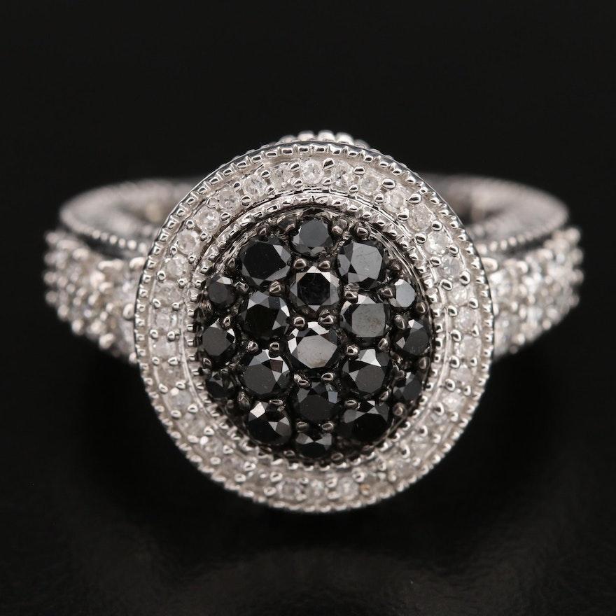 Sterling 1.40 CTW Diamond Ring