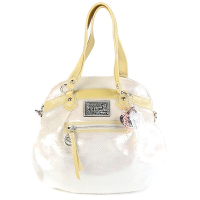 Coach Poppy 16303 Opalescent Spotlight Sequin Two-Way Bag