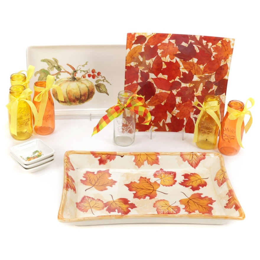 Valori Home, Effetti and Other Fall Themed Tableware