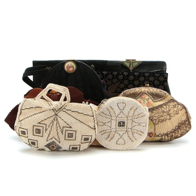 Beaded and Embellished Clutches and Handbags