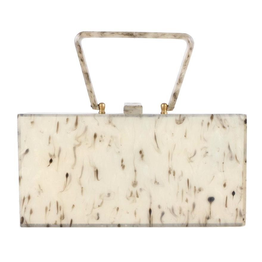 Wilardy New York Lucite Rectangle Bag