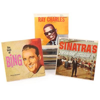 Ray Charles, Frank Sinatra, Judy Garland, Bing Crosby, Other Vinyl LP Records
