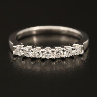 18K 0.42 CTW Diamond Multi-Stone Band