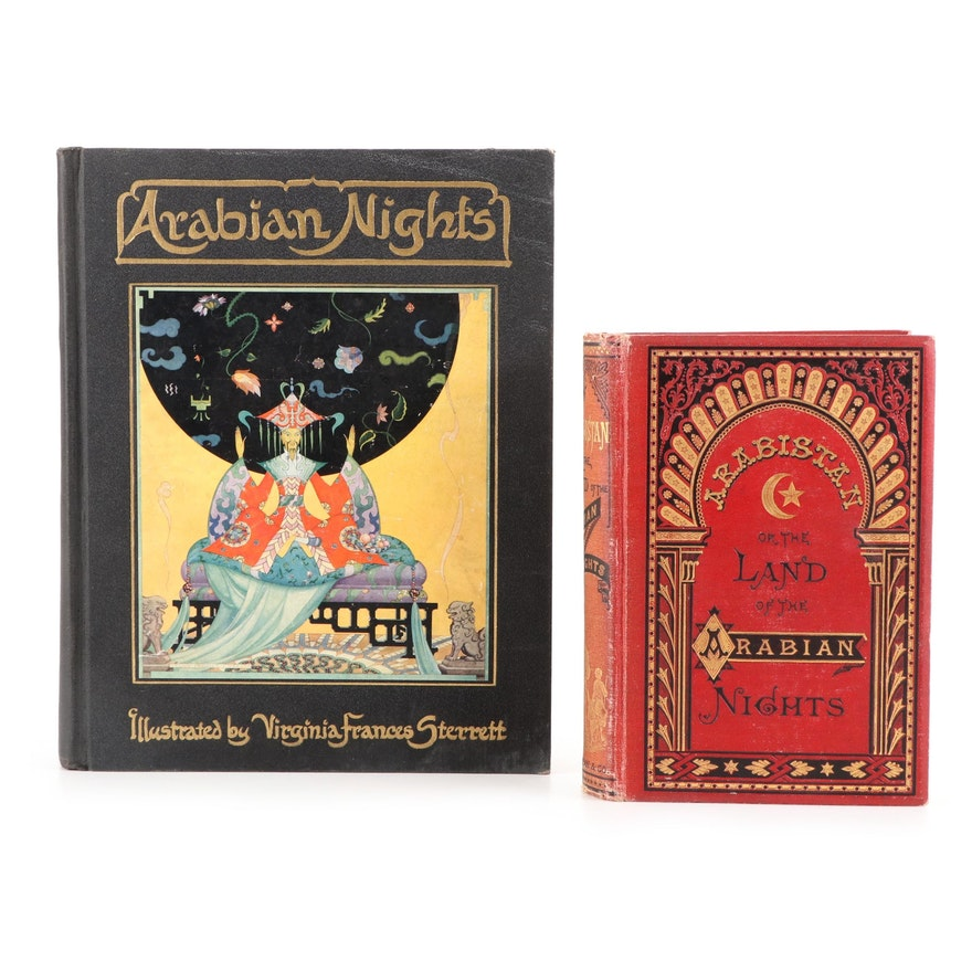 """Signed """"Arabistan"""" by William Perry Fog and More, Late 19th/Early 20th Century"""