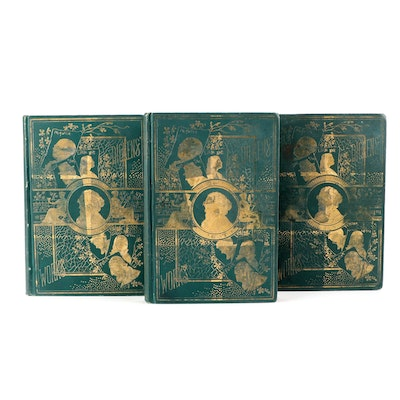 """Illustrated """"Works of Charles Dickens"""" Collier's Unabridged Edition Partial Set"""
