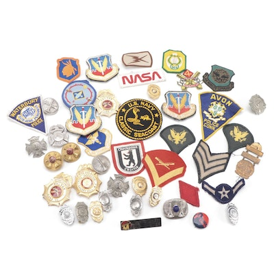 Emergency Service Badges and Embroidered Patches