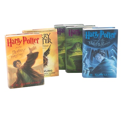 """First American Edition """"Harry Potter"""" Partial Series by J. K. Rowling"""