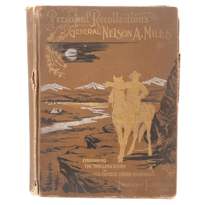 """Illustrated """"Personal Recollection of General Nelson A. Miles,"""" 1896"""