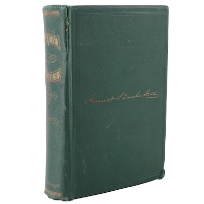 """First Edition """"Men of Our Times"""" by Harriet Beecher Stowe, 1868"""