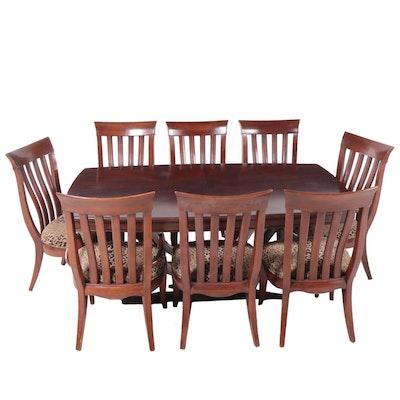 Bernhardt Paris Collection Mahogany Finish Dining Set
