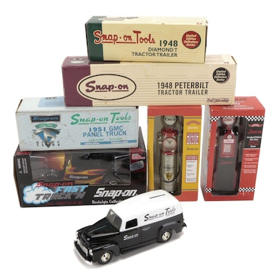 Ertl, Racing Champions, and Other Snap-On Themed Diecast Vehicles