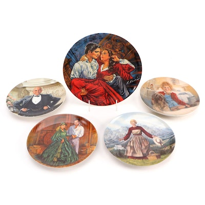 """Knowles """"The Sound of Music"""", """"Annie"""" and Other Movie Themed Collector Plates"""