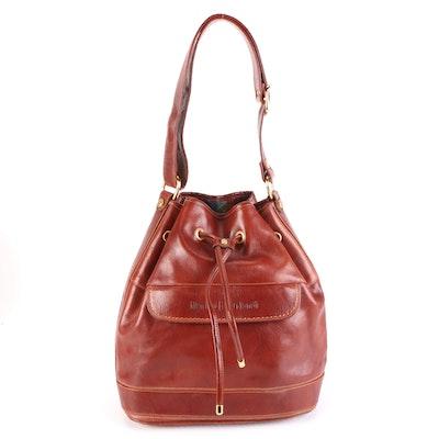 Marino Orlandi Brown Leather Shoulder Bag